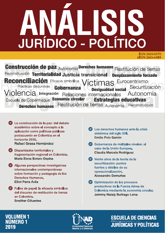 Portada Revista Análisis Jurídico-Político